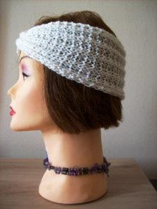 Vue de côté du Headband tricot
